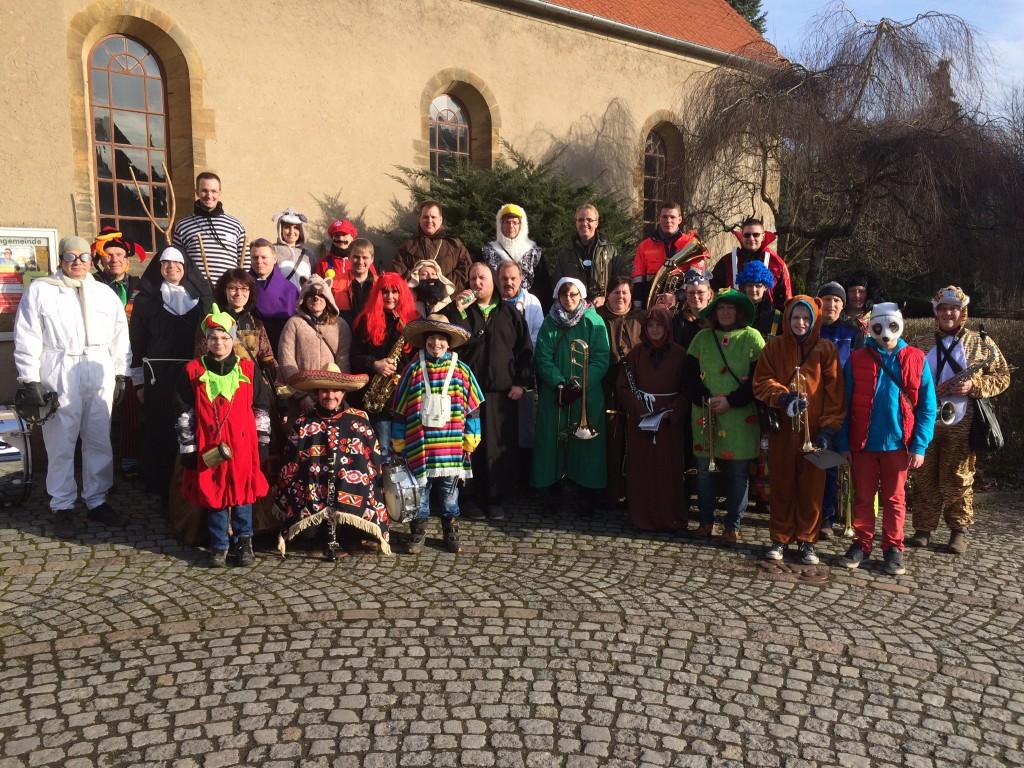 Karneval 2015_Gruppenbild
