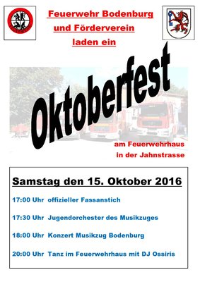 Oktoberfest Feuerwehr
